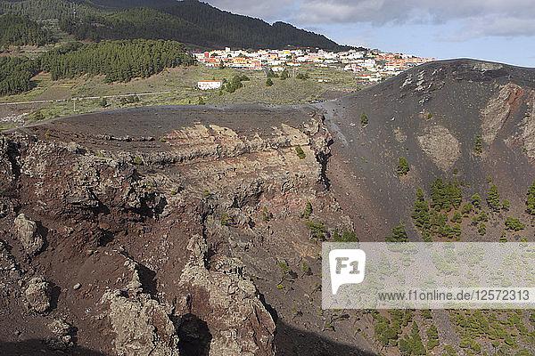San Antonio Volcano  Fuencaliente  La Palma  Canary Islands  Spain  2009.