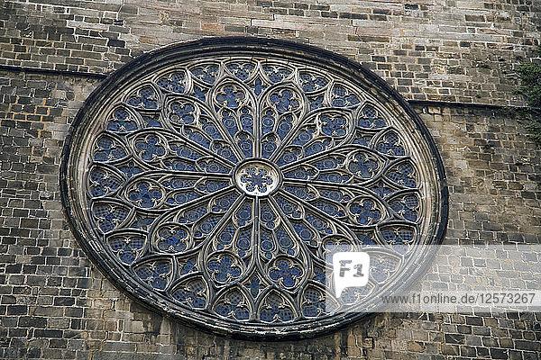 The Church of Santa Maria del Pi  Barcelona  Spain  2007. Artist: Samuel Magal
