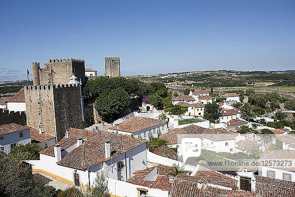Obidos Castle  Obidos  Portugal  2009. Artist: Samuel Magal