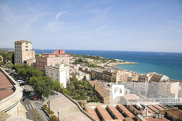 View of the city  Tarragona  Catalonia  Spain  2007. Artist: Samuel Magal