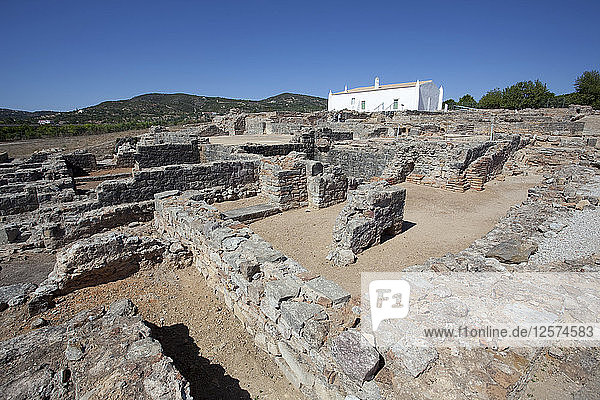 The ruins of a Roman house  Milreu  Portugal  2009. Artist: Samuel Magal