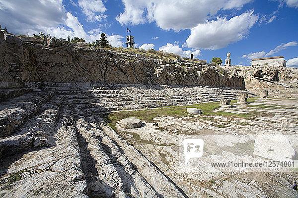 The Telesterion at Eleusis  Greece. Artist: Samuel Magal