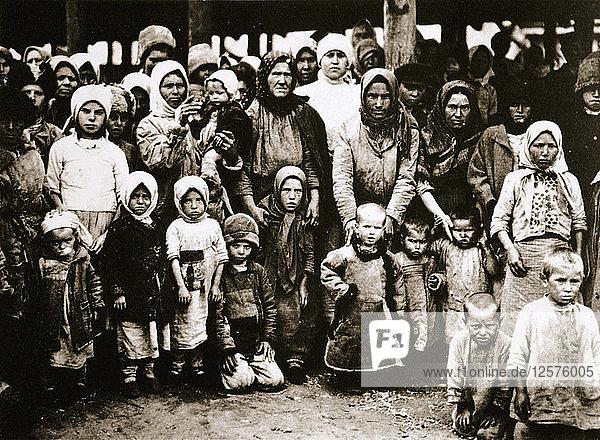 Famine in the Volga Valley  Russia  c1921-c1922. Artist: Unknown