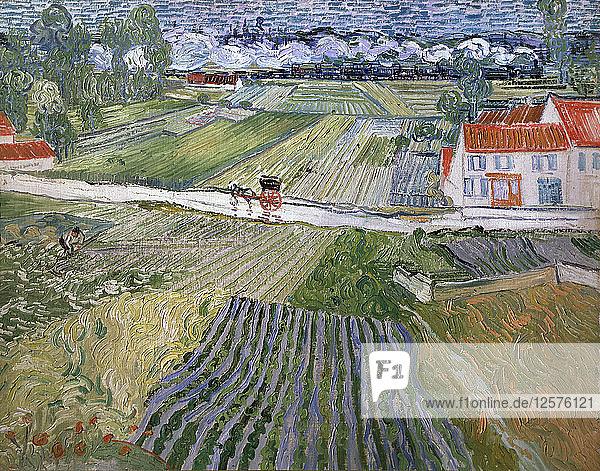 Landscape at Auvers after Rain,  1890. Artist: Vincent van Gogh
