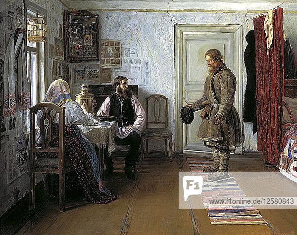 Layoff  1890. Artist: Ivan Pavlov