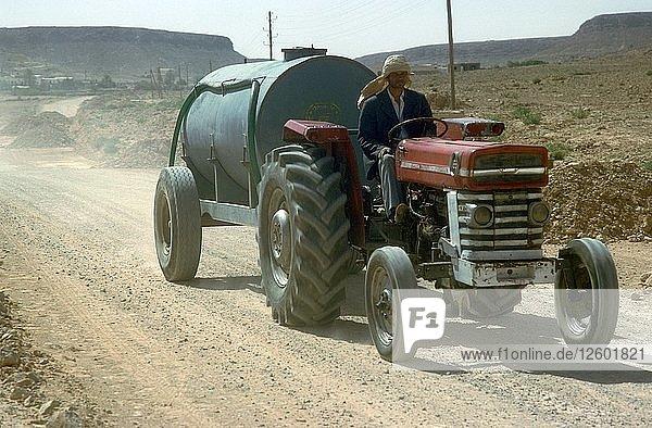 Road-building in Tunisia. Artist: Unknown