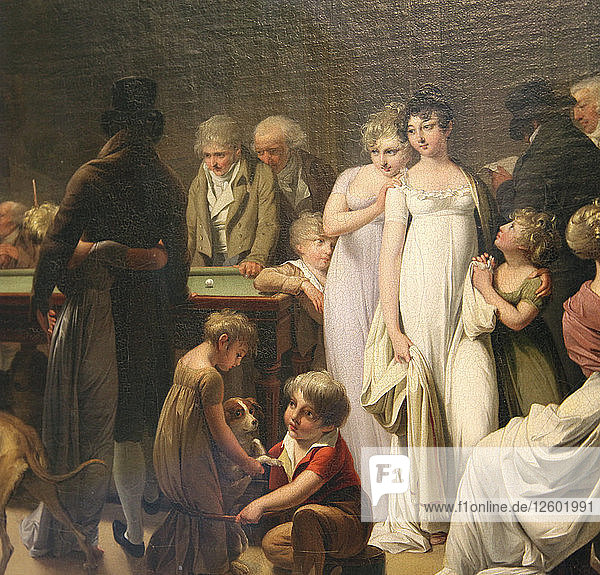 Game of Billiards  1807. Artist: Louis Leopold Boilly