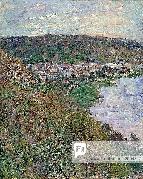 View of Vétheuil  1880. Artist: Monet  Claude (1840-1926)