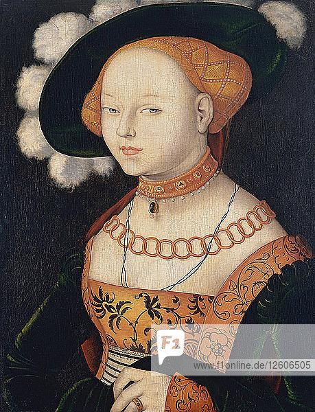 Portrait of a Lady  ca 1530. Artist: Baldung  Hans (1484-1545)