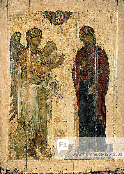 The Annunciation of Ustyug  1130-1140. Artist: Russian icon