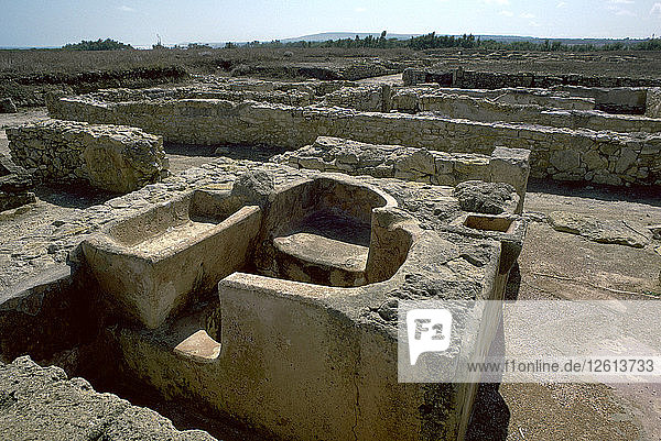 Bath in a Punic Town  5th century. Artist: Unknown