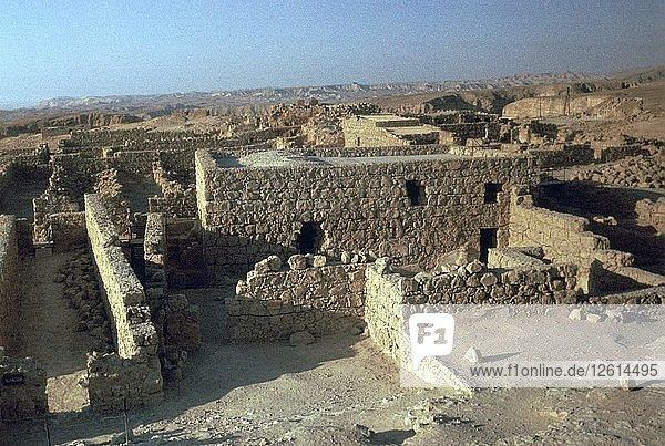 Storerooms in Masada  1st century. Artist: Unknown