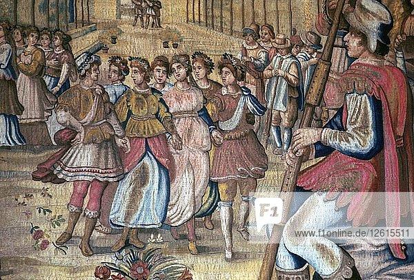 Florentine tapestry  16th century. Artist: Unknown