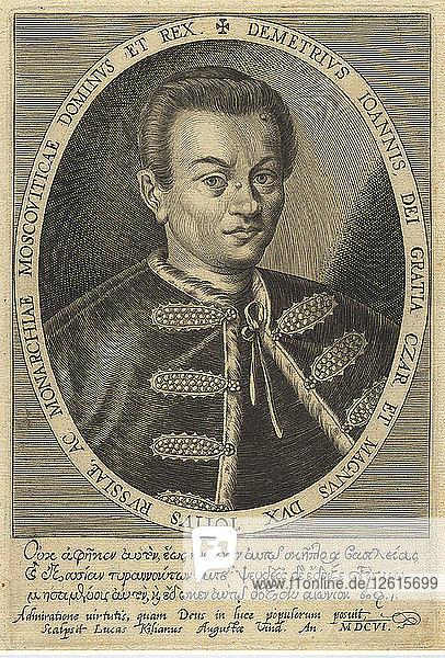 False Dmitry I  1607. Artist: Anonymous