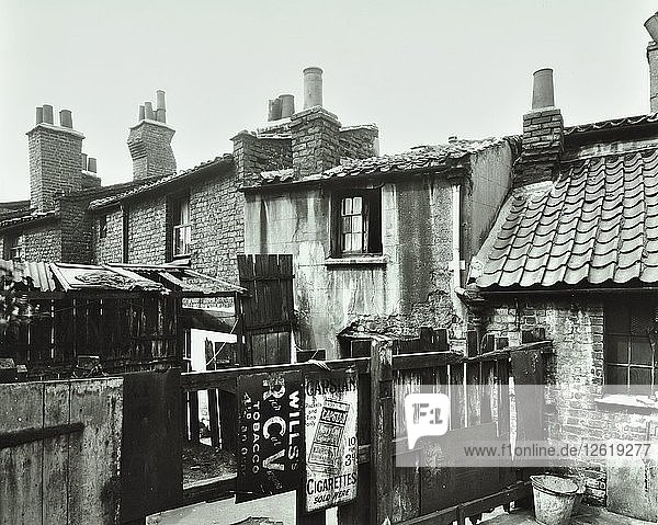 20 Birchfield Street  Poplar  London  1927. Artist: Unknown.