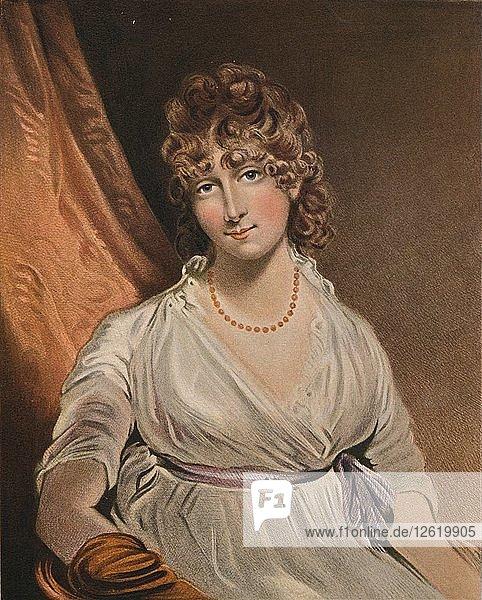 The Honorable Mrs Bouverie  c18th century  (1902). Artist: John Raphael Smith