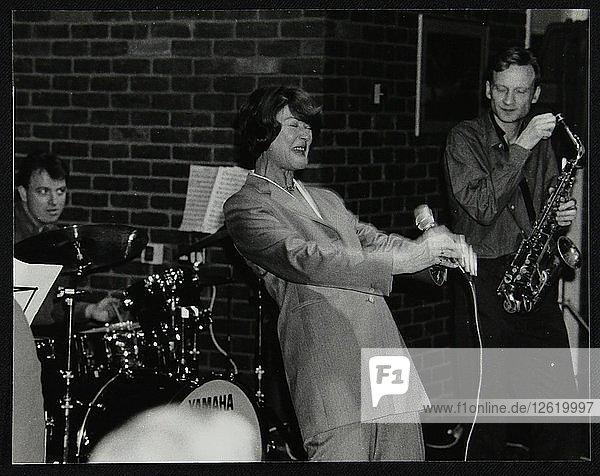 The Lee Gibson Quartet in concert at The Fairway  Welwyn Garden City  Hertfordshire  1999. Artist: Denis Williams