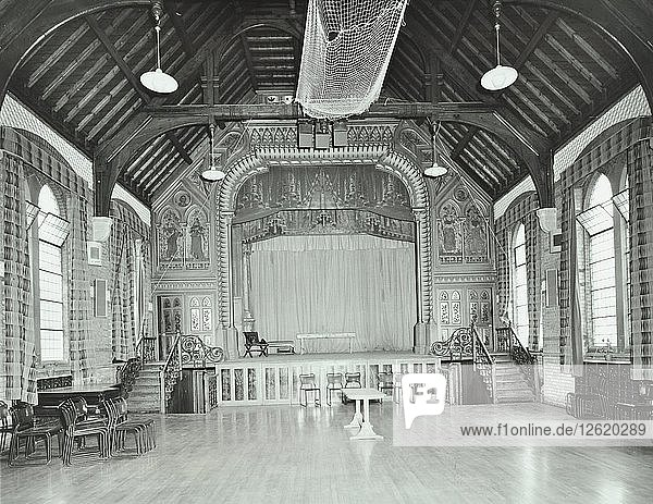 The theatre proscenium  Normansfield Hospital  Richmond upon Thames  1976. Artist: Unknown.