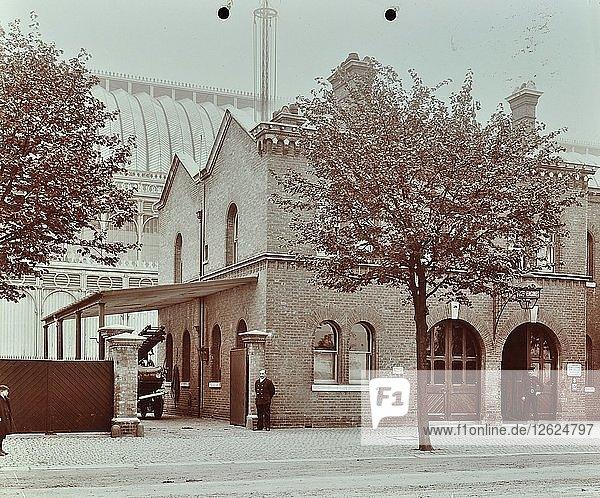 Sydenham Fire Station  Crystal Palace Parade  Lewisham  London  1907. Artist: Unknown.