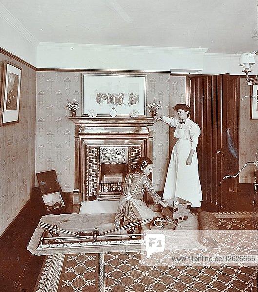 Housewifery Centre  Dulwich Hamlet School  Dulwich Village  London  1907. Artist: Unknown.