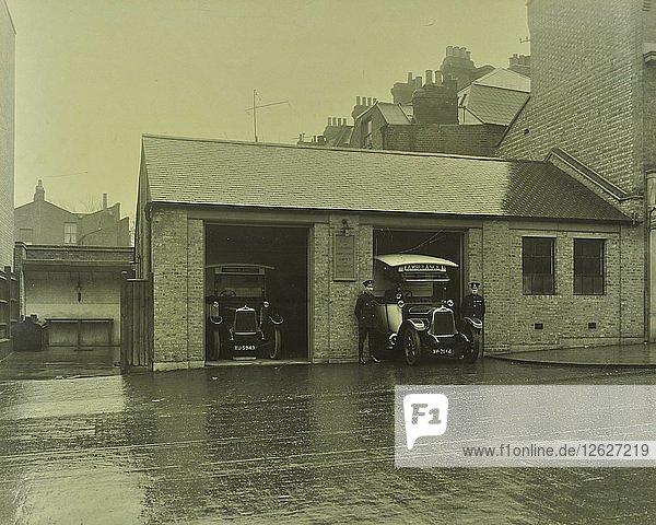 Battersea Ambulance Station  Battersea  Wandsworth  London 1925. Artist: Unknown.