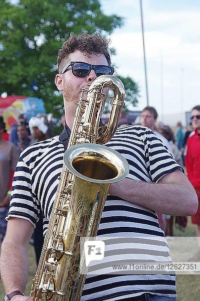 Love Supreme Jazz Festival  Glynde Place  East Sussex  July 2015. Artist: Brian OConnor.