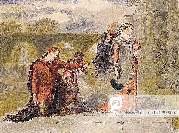 Come away death c1875. Artist: Sir John Gilbert.