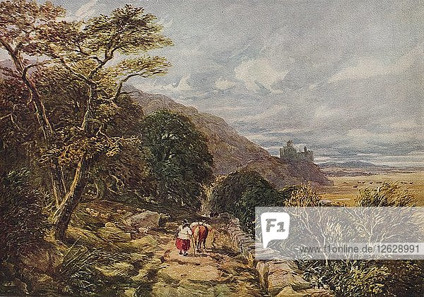 Country Track leading to Harlech Castle  19th century  (1938). Artist: David Cox the elder