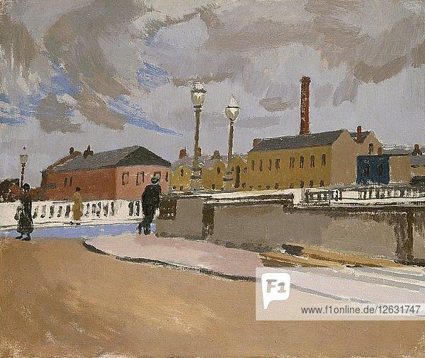 Street in Cork  1923-1943. Artist: Edward Morland Lewis