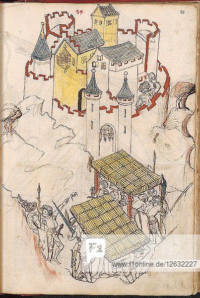 Bellifortis  after 1440. Artist: Kyeser  Konrad (1366-after 1405)