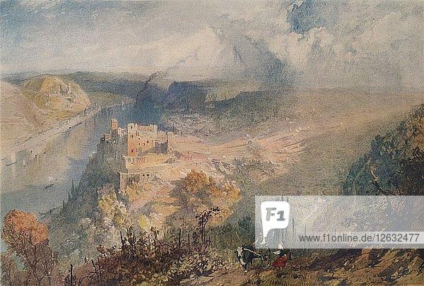 On the Rhine  1852. Artist: James Baker Pyne.