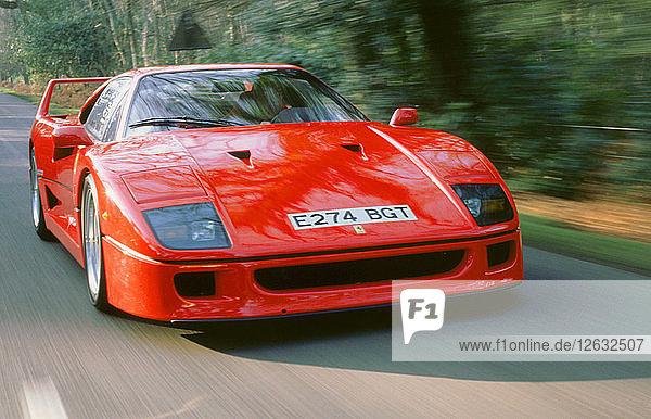 1988 Ferrari F40. Artist: Unknown.