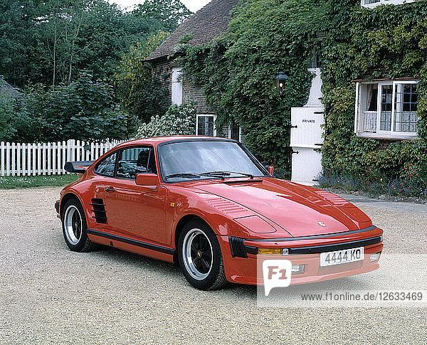1987 Porsche 911 Turbo Sport. Artist: Unknown.