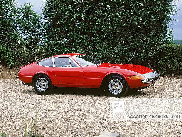 1972 Ferrari 365 GTB/4 Daytona. Artist: Unknown.