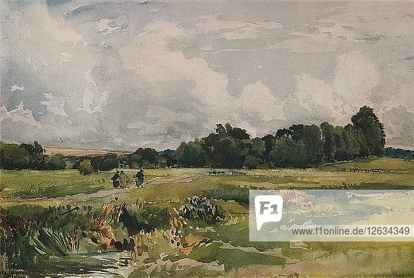 The Marshes  c1879. Artist: Thomas Collier.