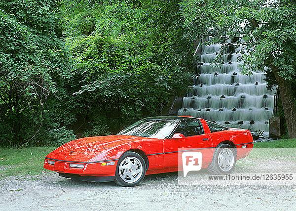 1990 Chevrolet Corvette ZR1. Artist: Unknown.