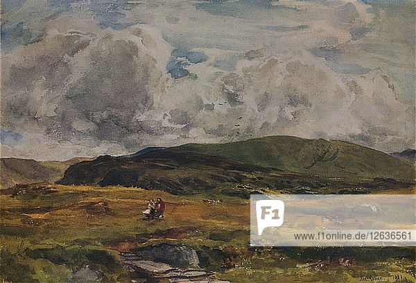 A Path over the Fields  1881. Artist: Thomas Collier.