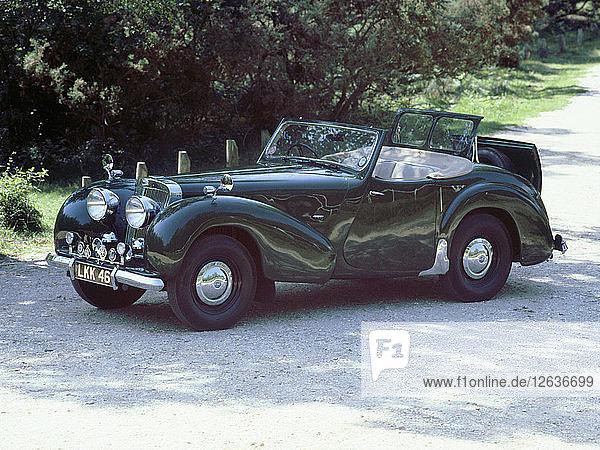 1948 Triumph Roadster. Artist: Unknown.