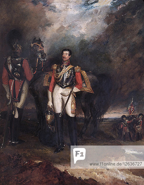 Portrait of Stapleton Cotton  Viscount Combermere  British soldier  1839. Artist: John Hayter.