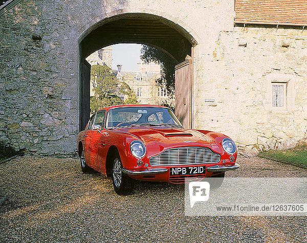 1966 Aston Martin DB6 Vantage. Artist: Unknown.
