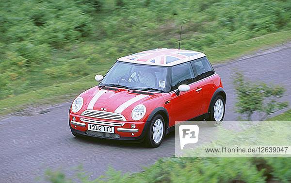 2002 Mini Cooper. Artist: Unknown.