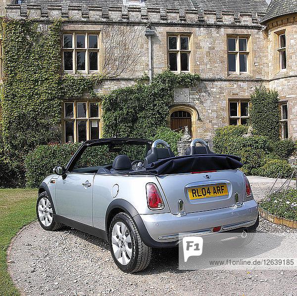 2004 Mini Cooper Convertible. Artist: Unknown.