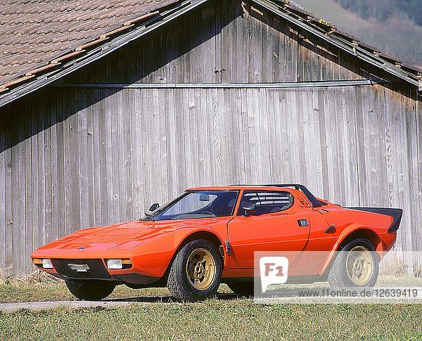 1973 Lancia Stratos. Artist: Unknown.