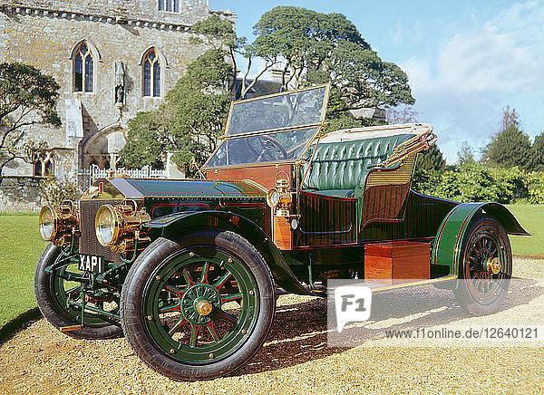 1905 Rolls Royce 30hp. Artist: Unknown.