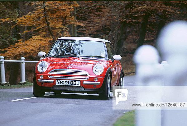 2001 Mini Cooper. Artist: Unknown.