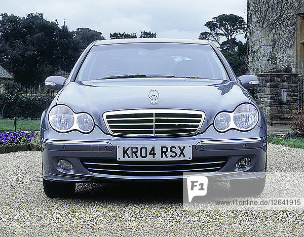 2004 Mercedes Benz C230 Kompressor. Artist: Unknown.