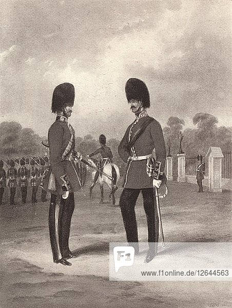 Scots Fusilier Guards  c1820-1870  (1909). Artist: John Harris Junior.