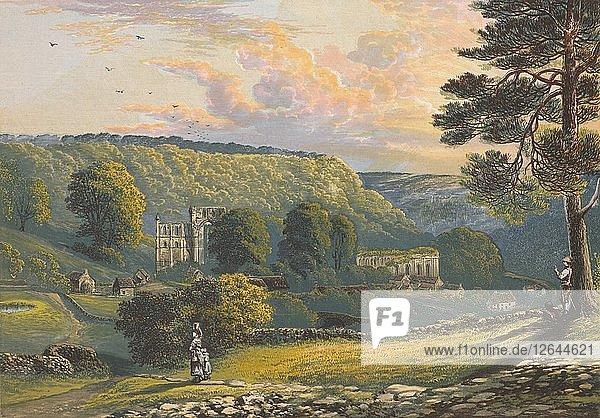 Rievaulx Abbey  c1880  (1897). Artist: Alexander Francis Lydon.