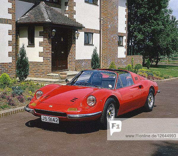 1973 FerrariDino 246 GTS Artist: Unknown.