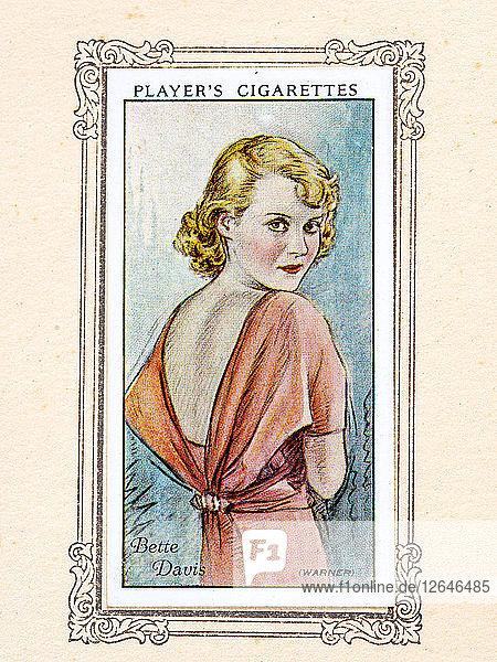 Bette Davis  1934. Artist: Unknown.